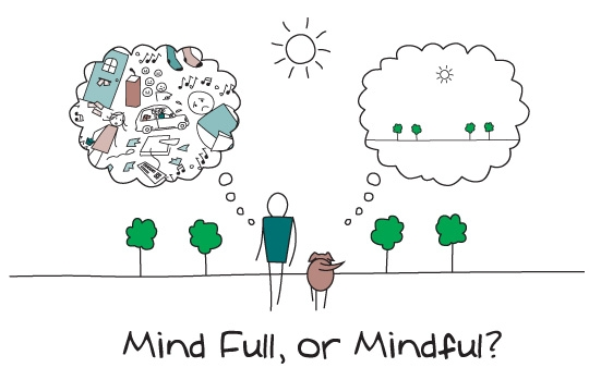 Reduce Stress and Worry By Being Mindful