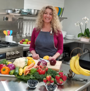 Dietitian in the kitchen